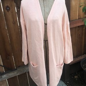 3/$15 Forever 21 pink long sweater M